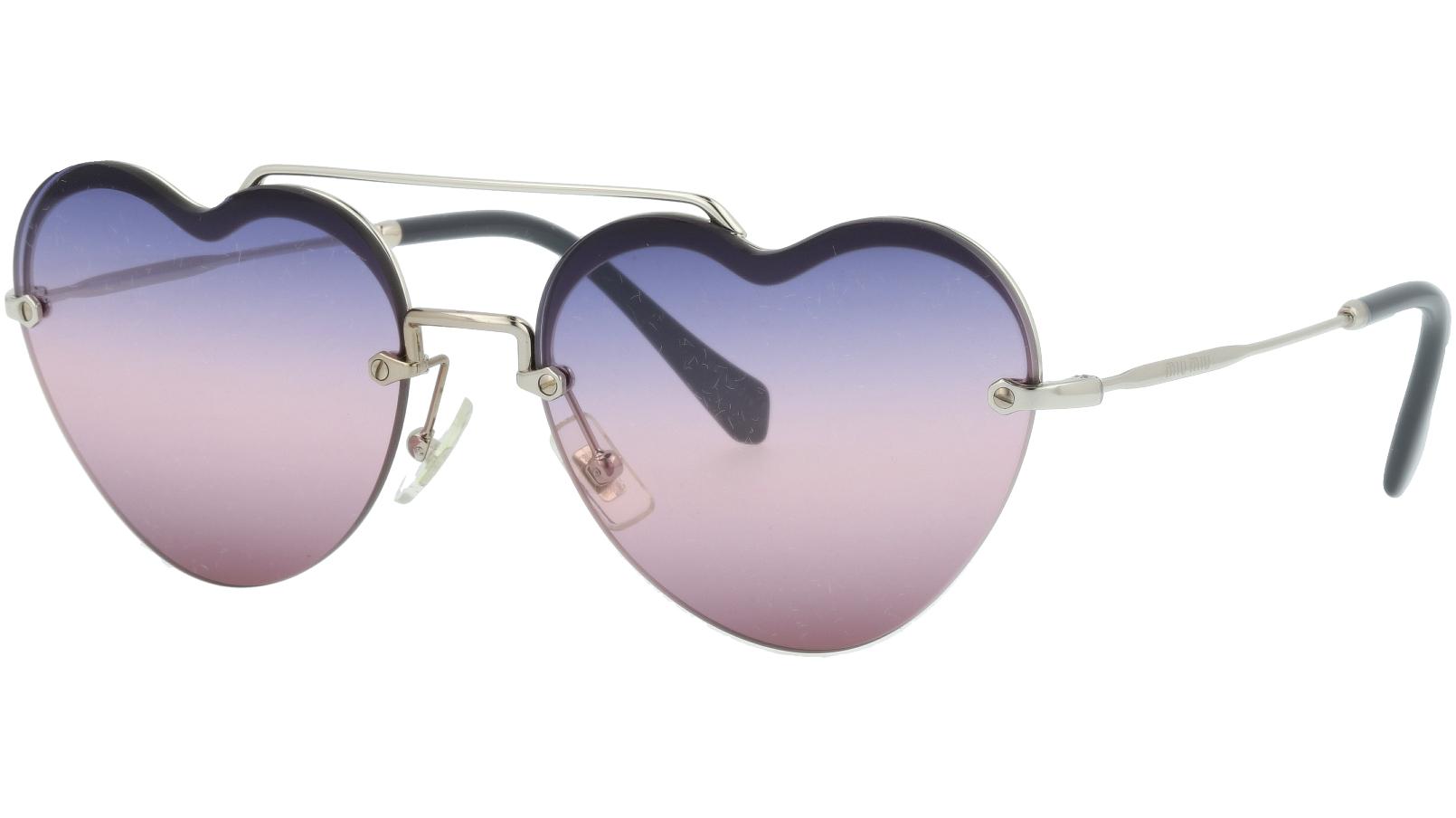 Miu Miu MU62US 1BC157 58 Violet Sunglasses