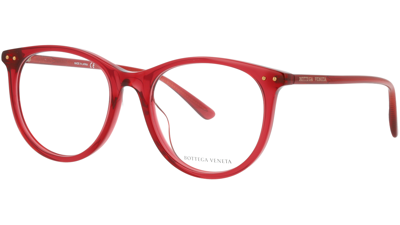 Bottega Veneta BV0215OA 004 53 Red Glasses