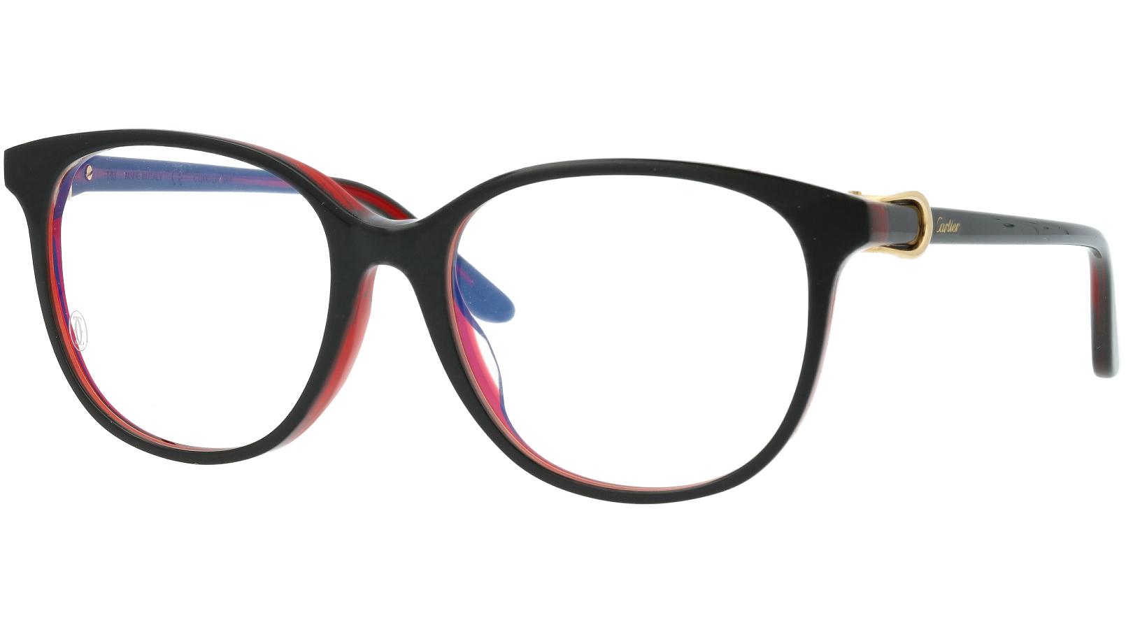 Cartier CT0007OA 001 53 Black Glasses