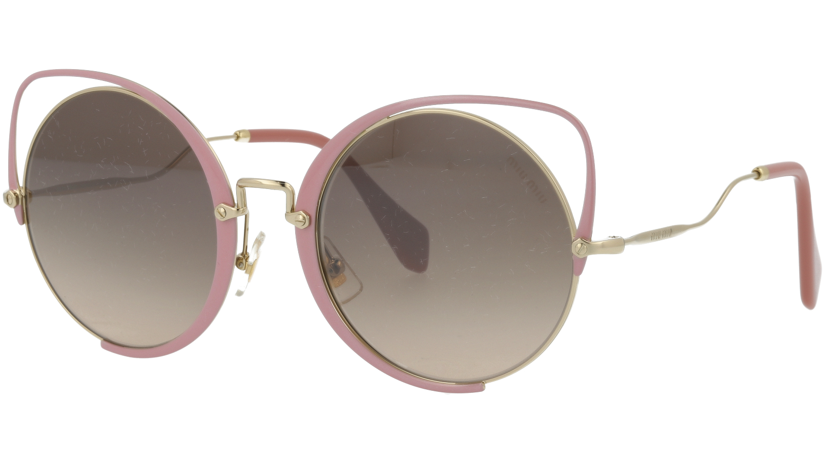 MIU MIU MU51TS C5R4P0 54 Pink Sunglasses