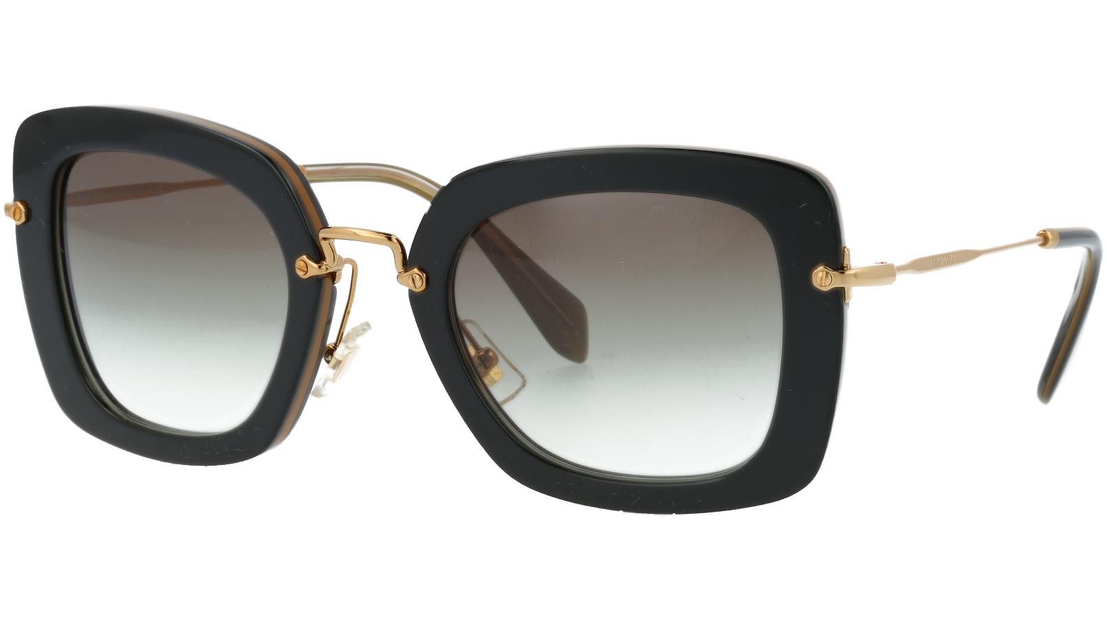 MIU MIU MU07OS KAY0A7 52 Black Sunglasses
