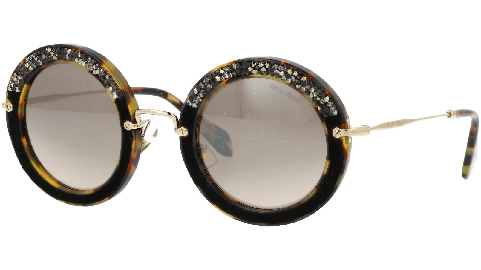 MIU MIU MU08RS 7S04P0 49 Havana Sunglasses