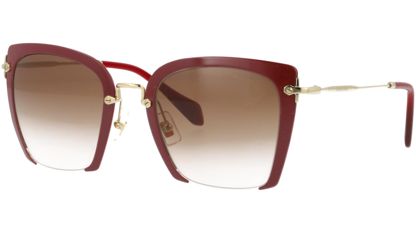 Miu Miu MU52RS UA50A6 52 Red Square Sunglasses