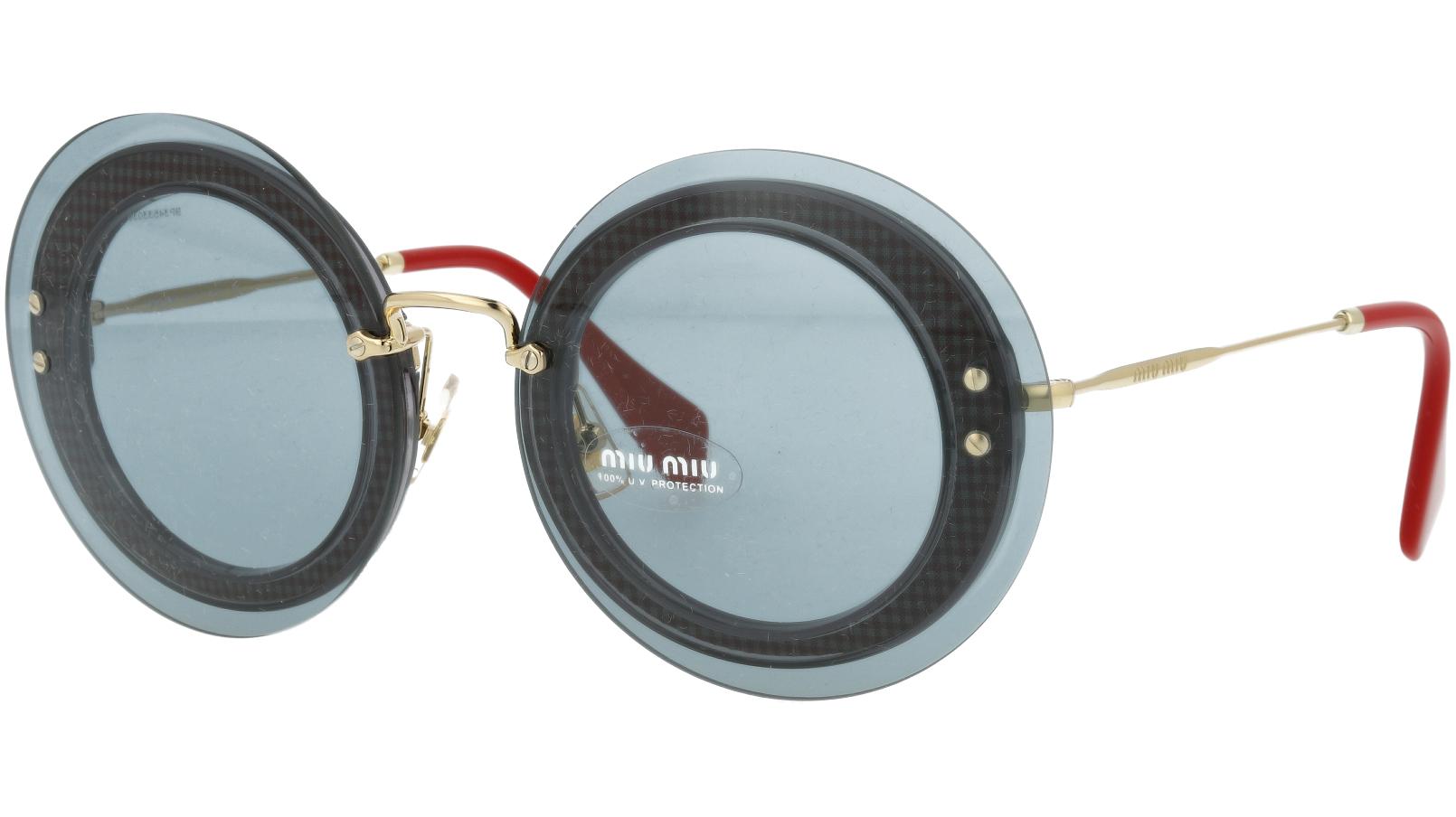 MIU MIU MU10RS U6D3C2 64 Grey Sunglasses