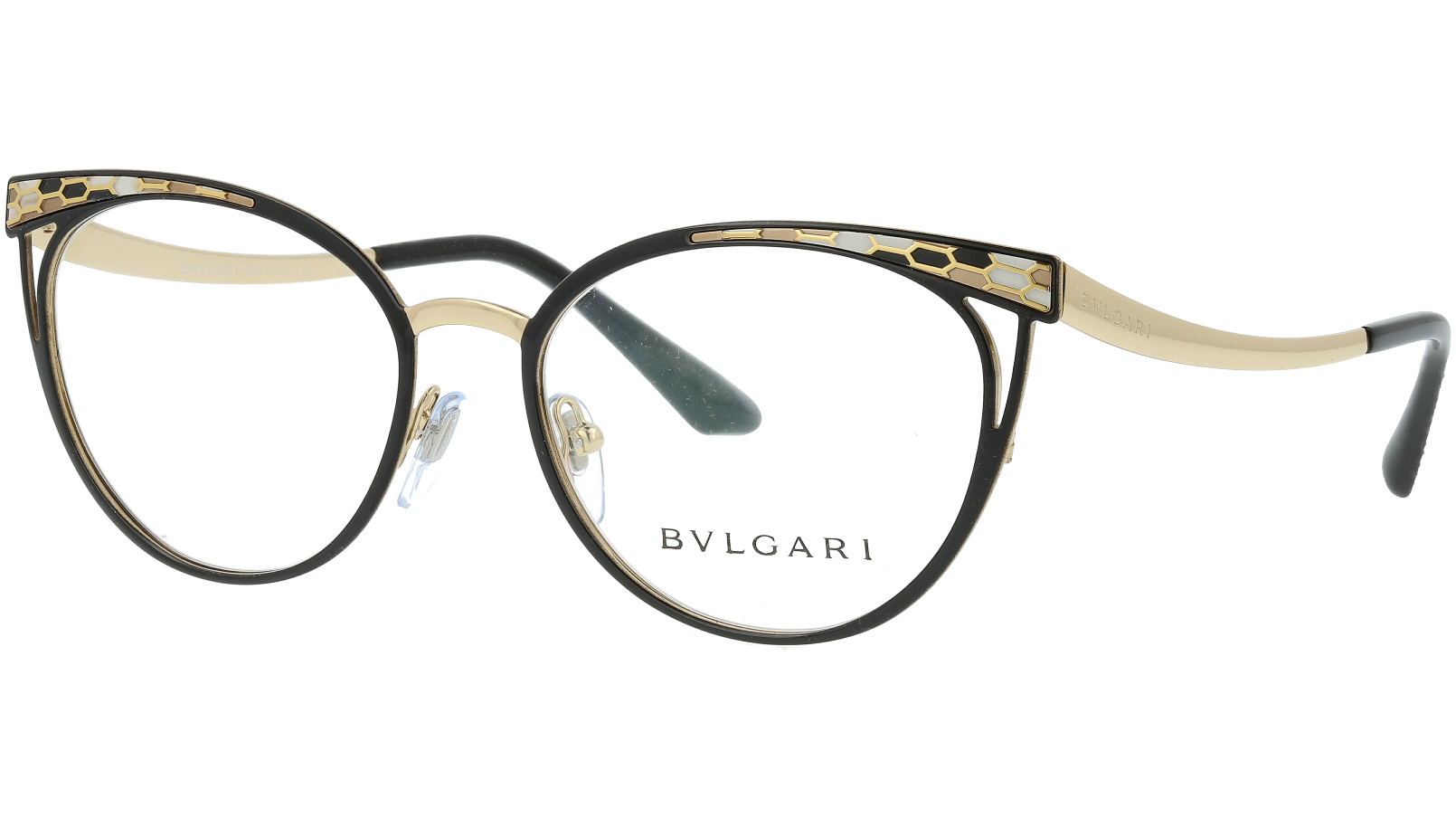 BVLGARI BV2186 2018 53 BLACK Glasses