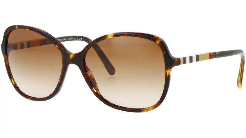 Burberry BE4197 300213 58 Havana Sunglasses