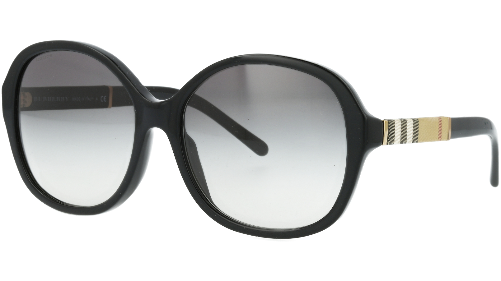 BURBERRY BE4178 300111 58 BLACK Sunglasses