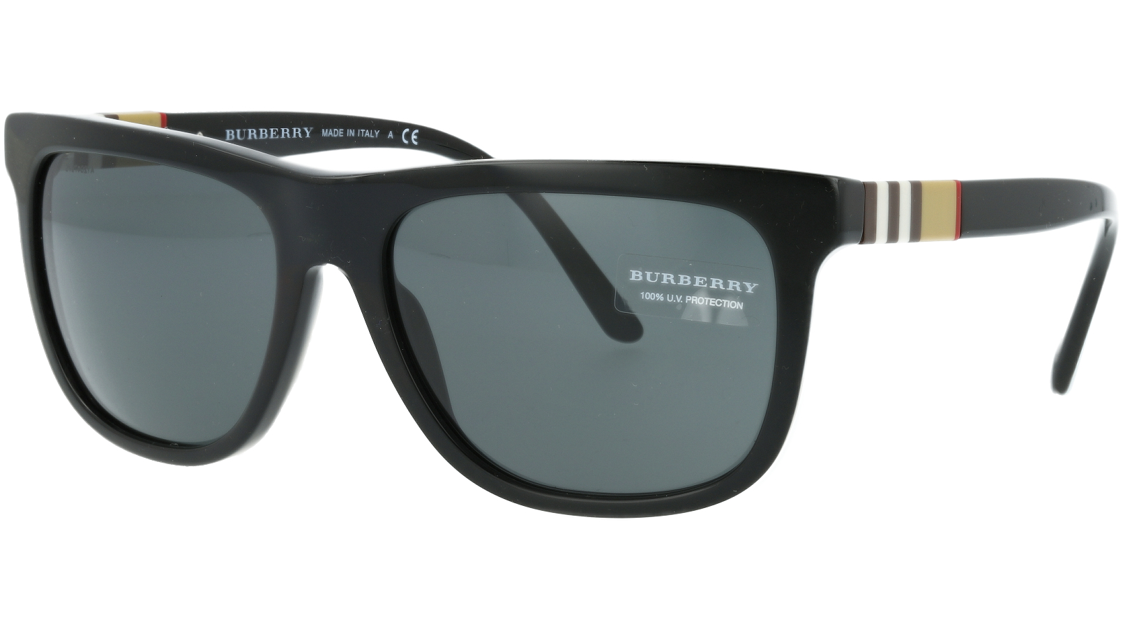 BURBERRY BE4201 300187 58 BLACK Sunglasses
