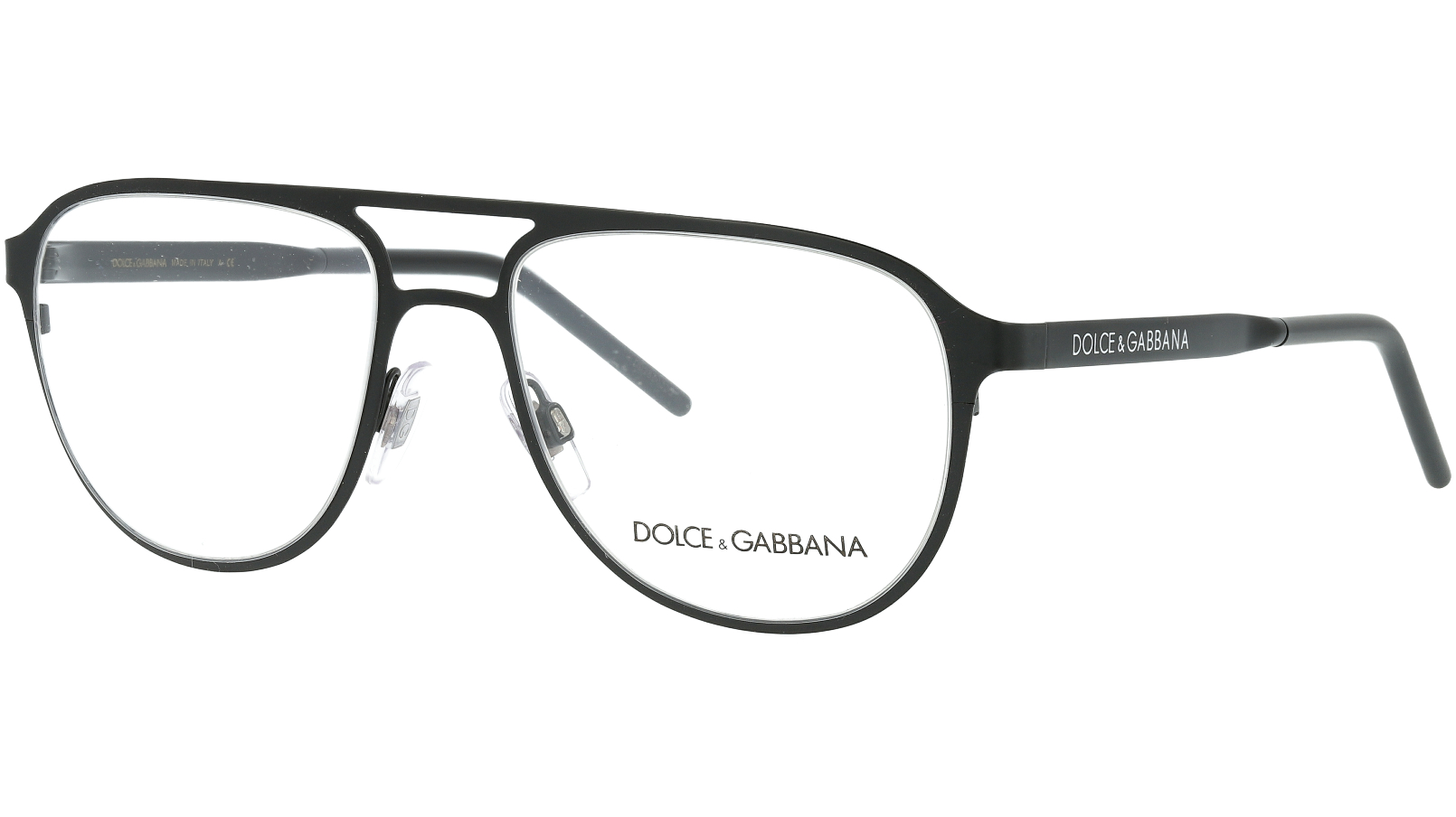 DOLCE & GABBANA DG1317 1106 54 BLACK Glasses