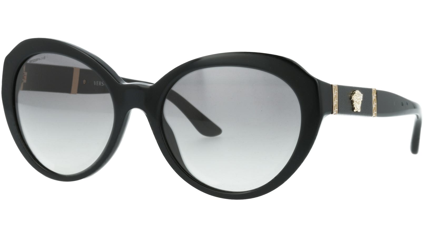 Versace VE4306Q GB1/11 56 Black Sunglasses