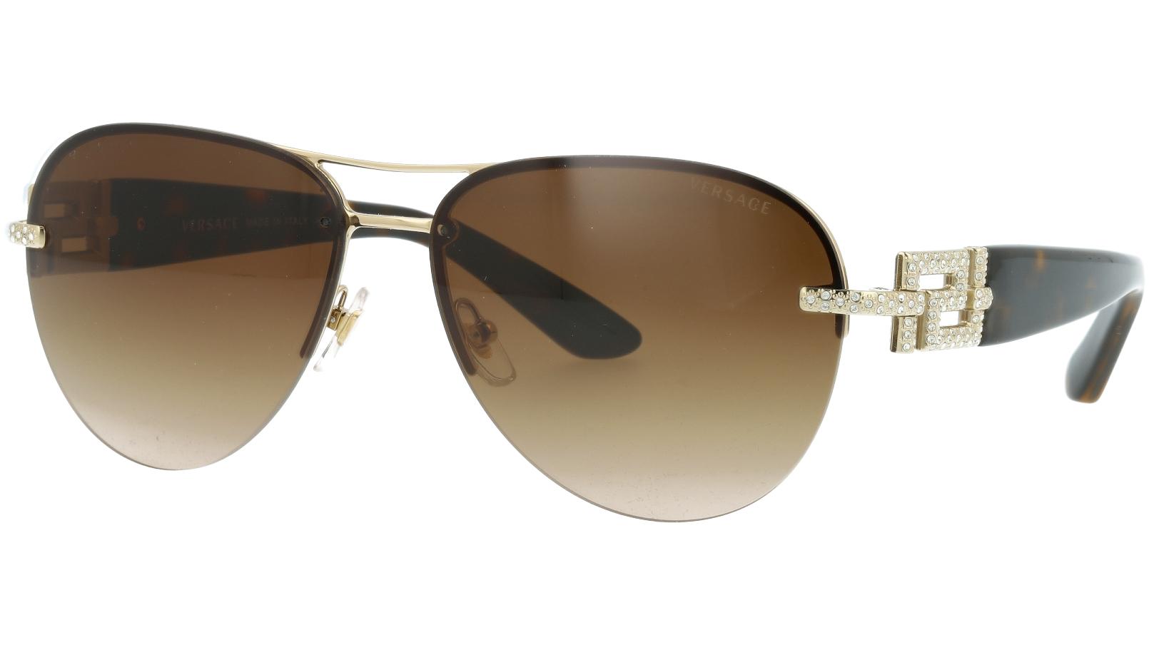 Versace VE2159B 125213 59 Brown Sunglasses