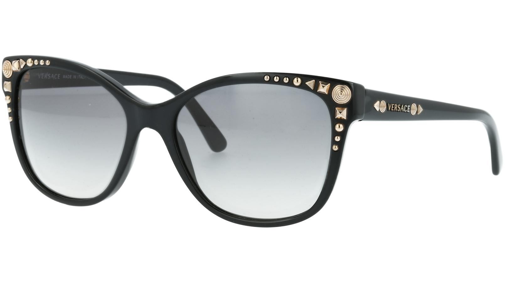 Versace VE4270 GB1/11 56 Black Sunglasses