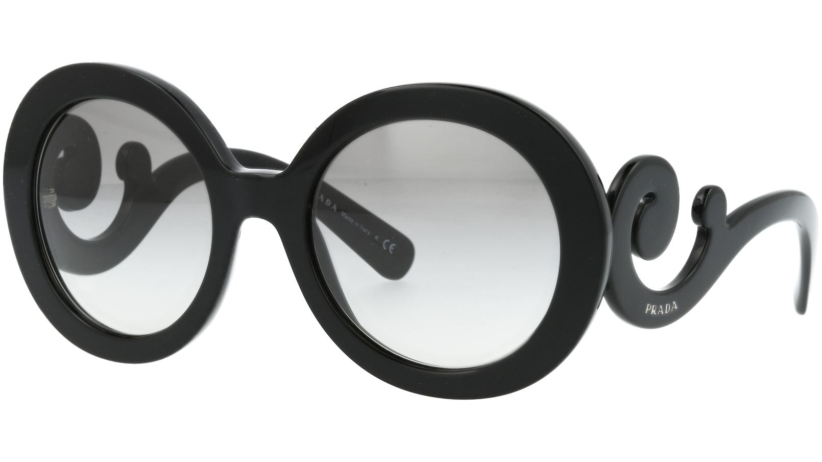 Prada PR27NS 1AB3M1 55 Black Sunglasses