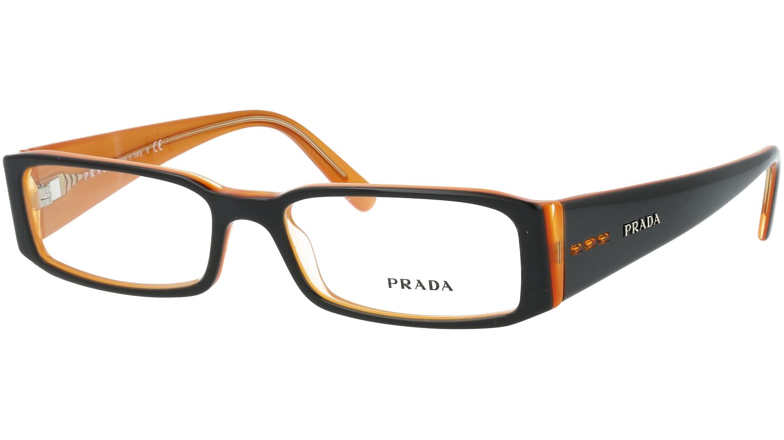Prada PR10FV 2BX1O1 53 Black Glasses