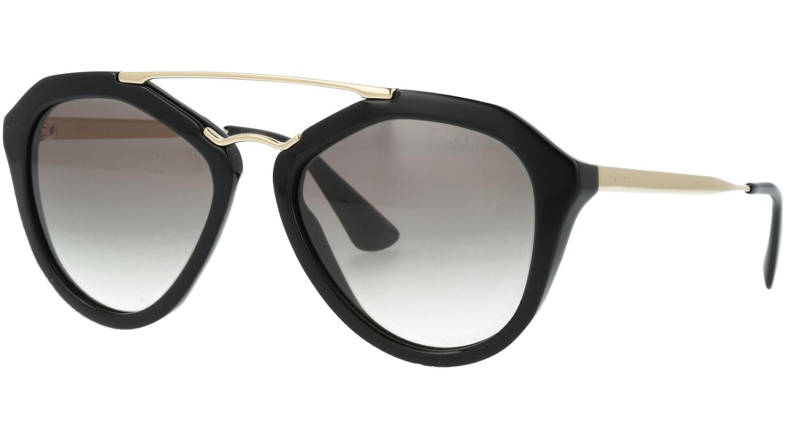 Prada PR12QS 1AB0A7 54 Black Sunglasses