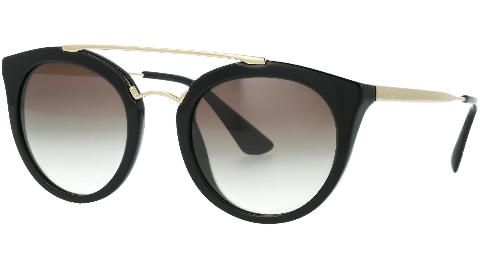 Prada PR23SS 1AB0A7 52 Black Sunglasses