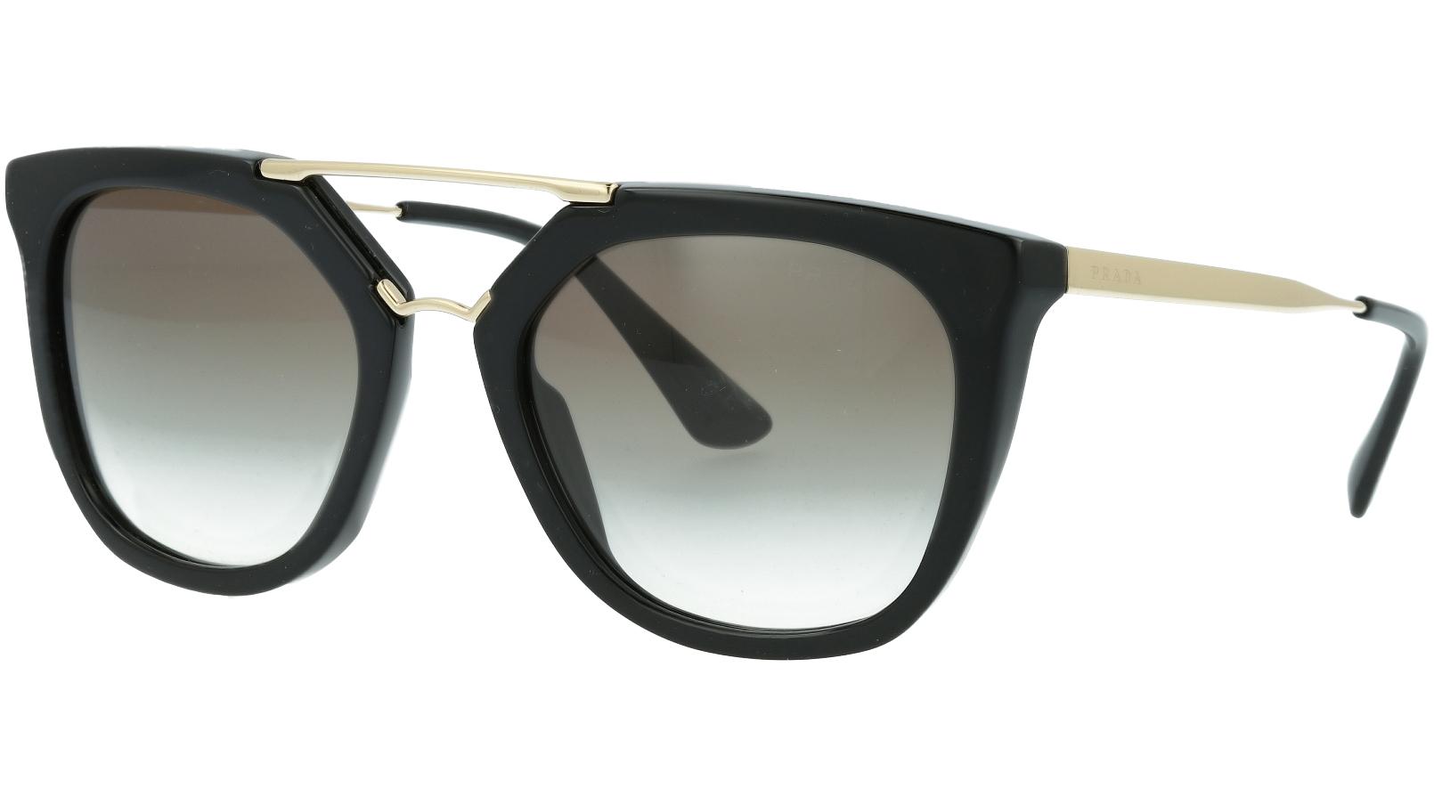 Prada PR13QS 1AB0A7 54 Black Sunglasses