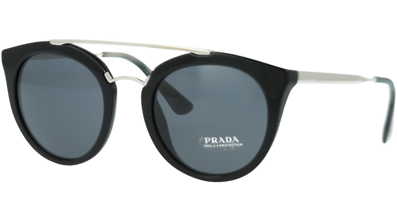 Prada PR23SS 1AB1A1 52 Black Sunglasses