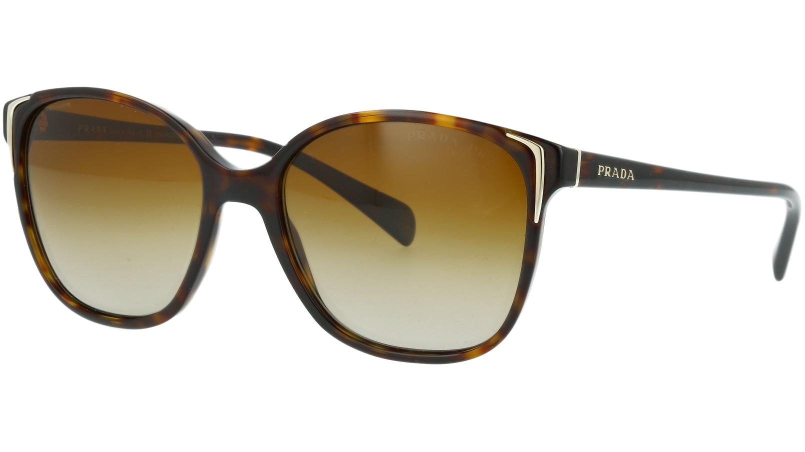 Prada PR01OS 2AU6E1 55 Havana Sunglasses