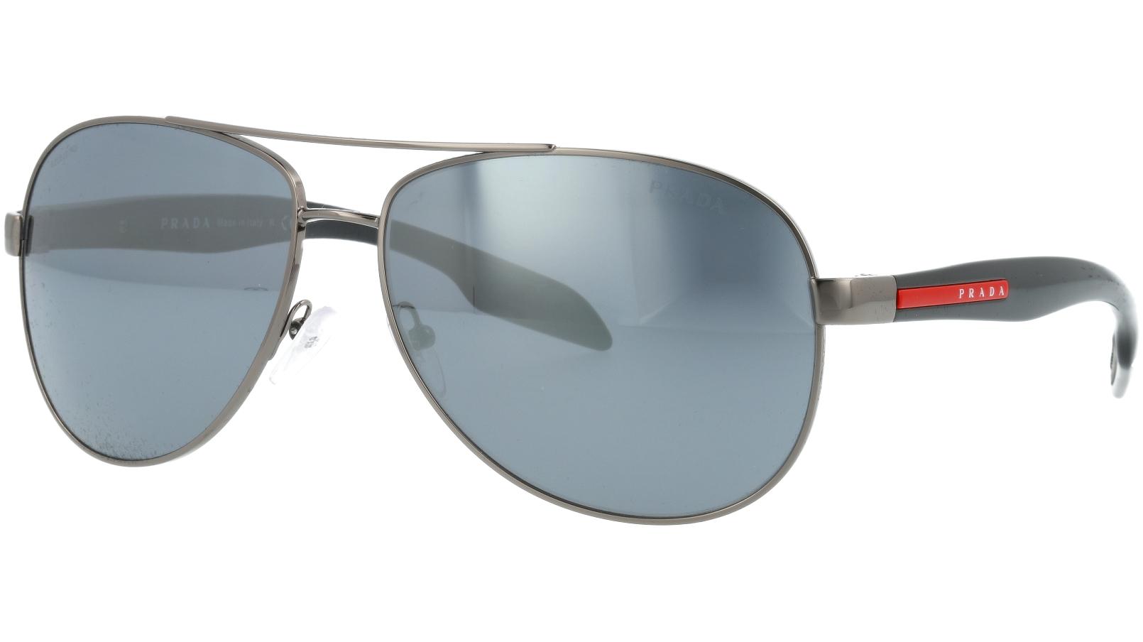 Prada Linea Rossa PS53PS 5AV5L0 62 Ruthenium Sunglasses