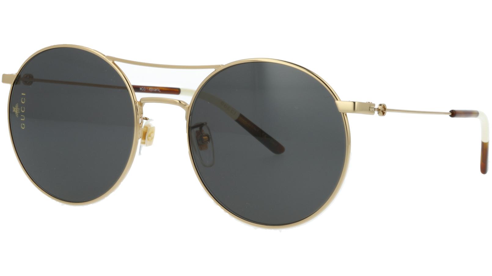 Gucci GG0680S 001 56 Gold Round Sunglasses