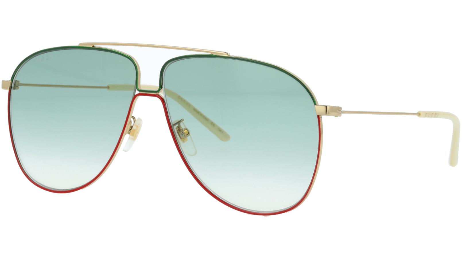 GUCCI GG0440S 004 61 GOLD Sunglasses