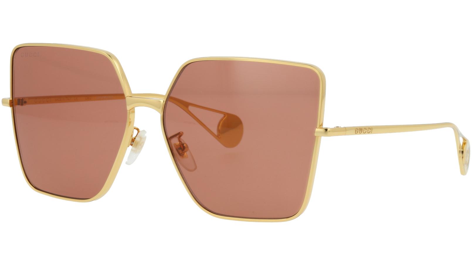 GUCCI GG0436S 005 61 GOLD Sunglasses