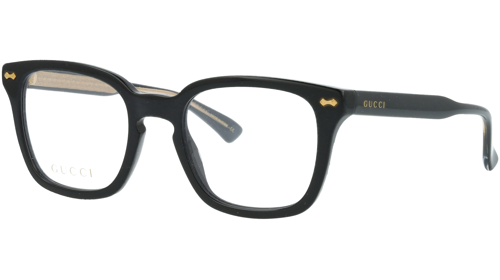 GUCCI GG0184O 001 50 BLACK Glasses