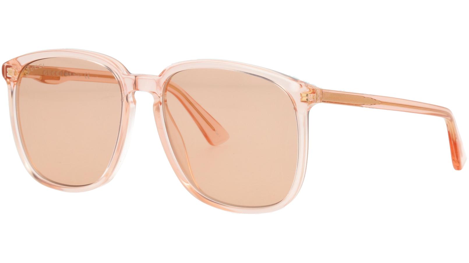 GUCCI GG0265S 003 55 ORANGE Sunglasses