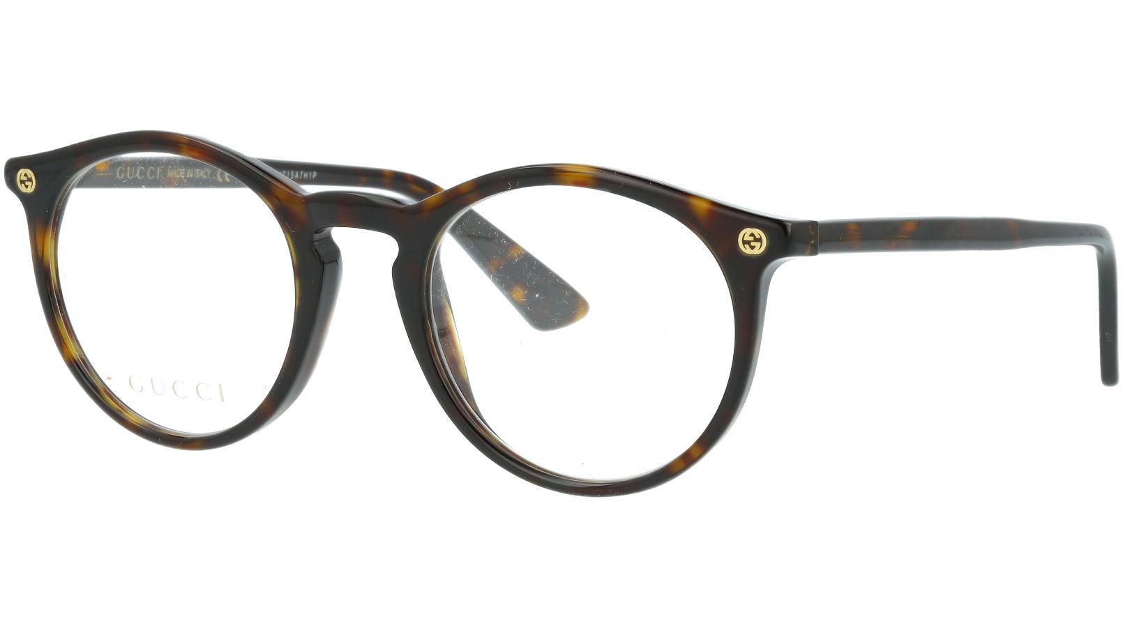 GUCCI GG0121O 002 49 AVANA Glasses