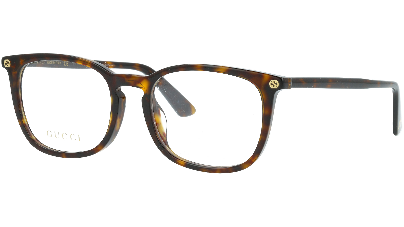 GUCCI GG0122OA 006 54 HAVANA Glasses