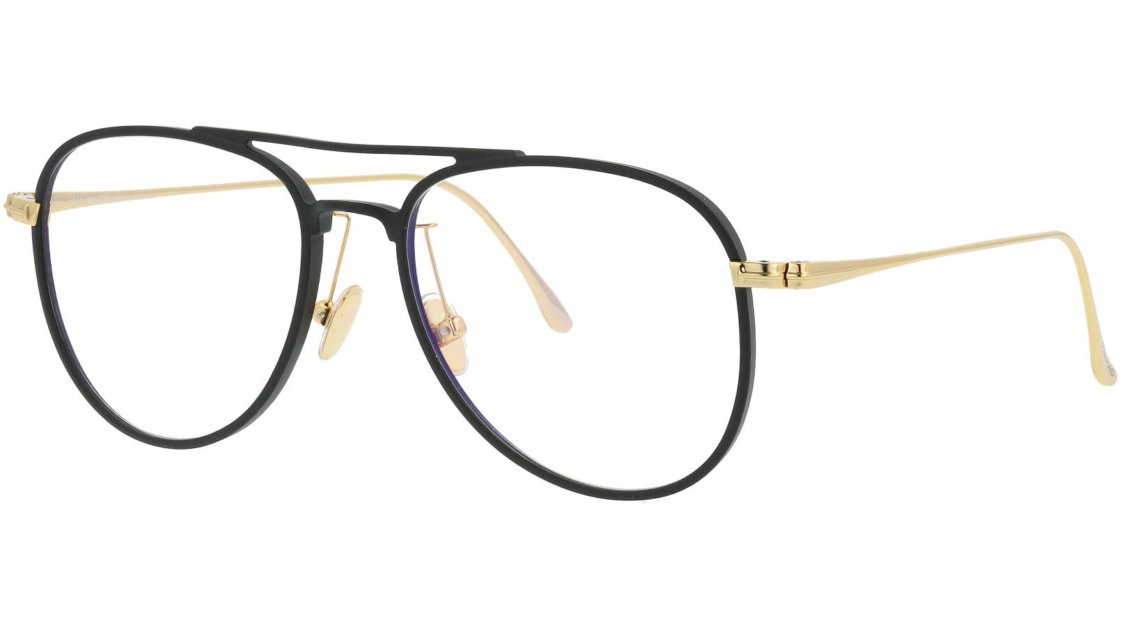 Tom Ford TF5666-B 002 52 Black Glasses