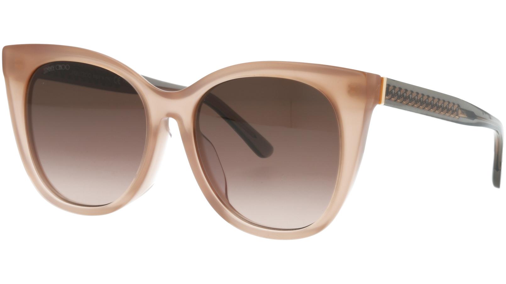 JIMMY CHOO ALENA/F/S FWMHA 54 NUDE Sunglasses