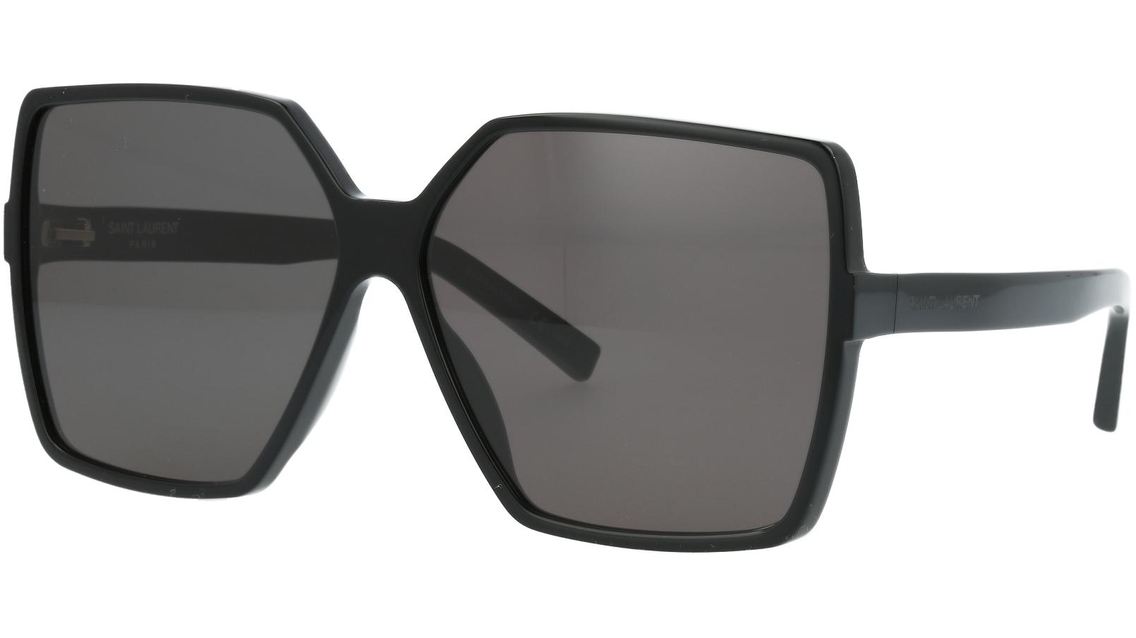 Saint Laurent SL232 BETTY 001 63 Black Sunglasses