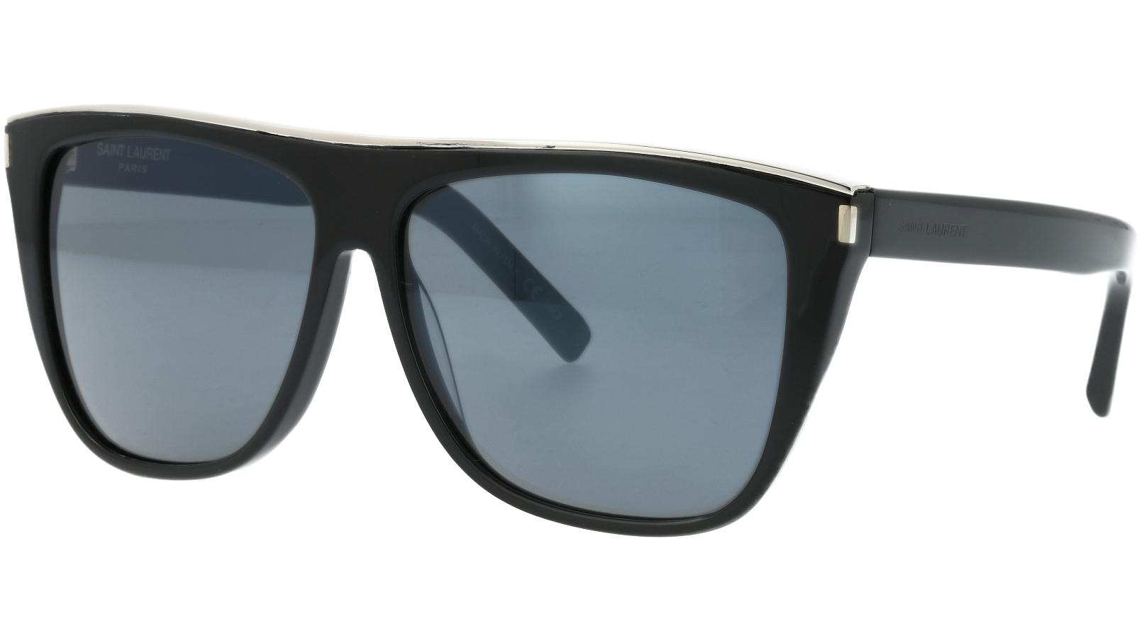 Saint Laurent SL1 COMBI 001 59 Black Sunglasses