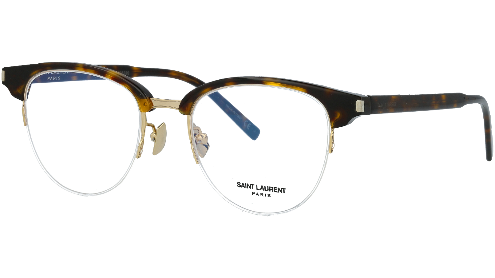 Saint Laurent SL188 SLIM 002 49 Havana Glasses