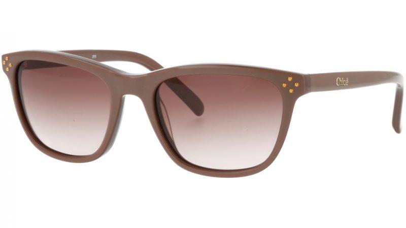 Chloé CE3604S 210 49 Brown Square Sunglasses