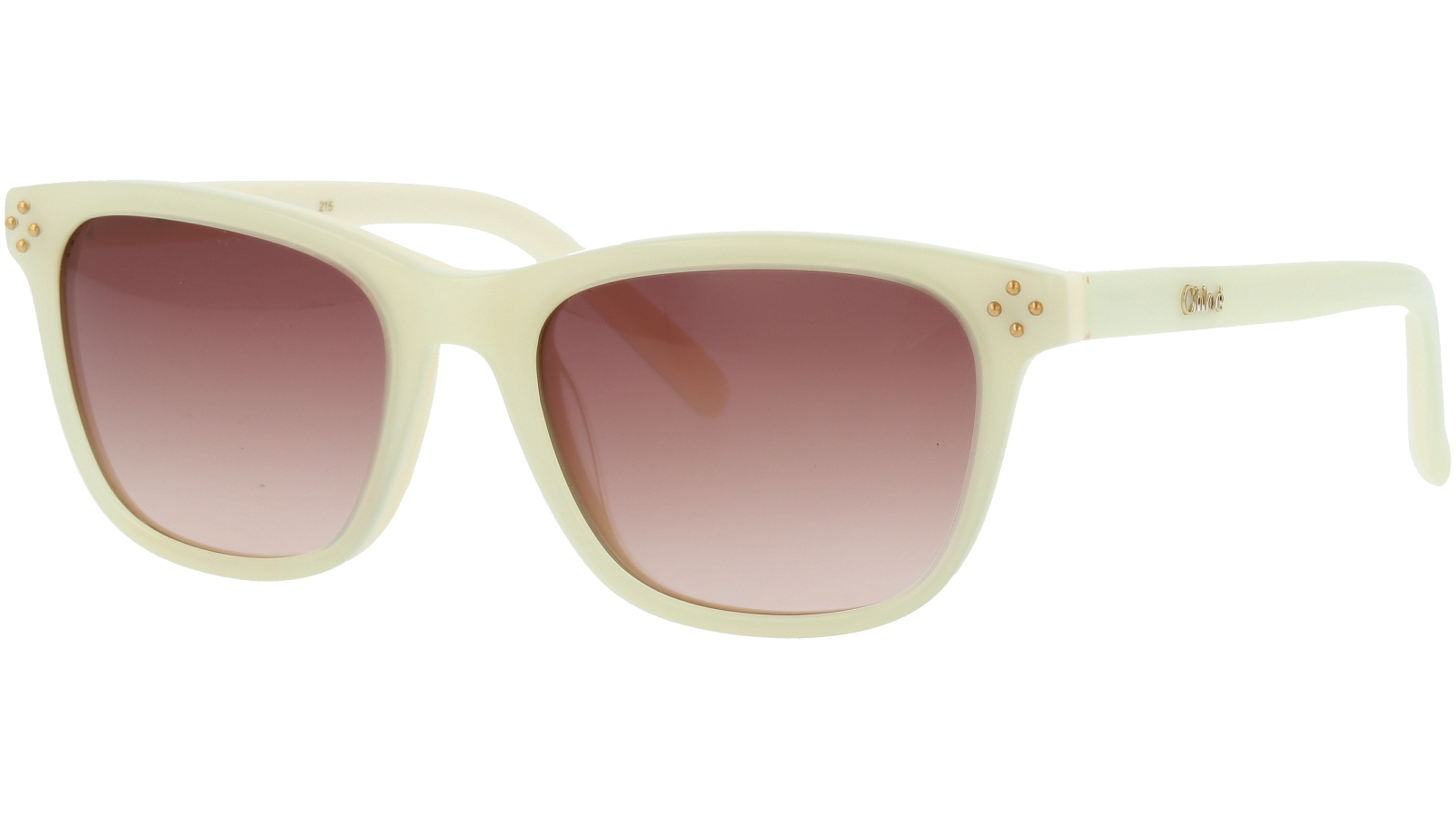 CHLOE CE3604S 102 49 Ivory Cream Square Sunglasses