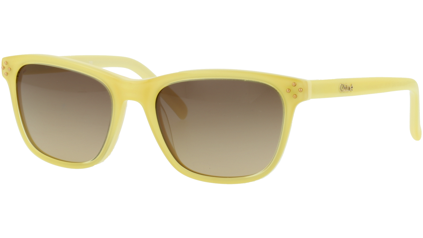CHLOE CE3604S 799 49 Yellow Square Sunglasses