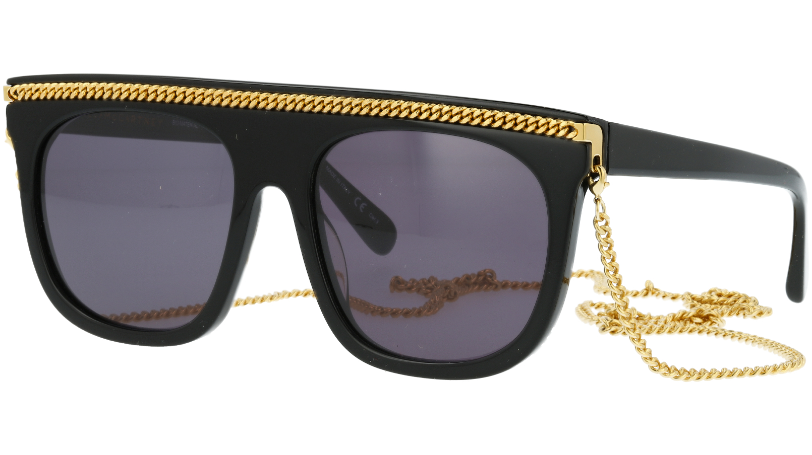 STELLA MCCARTNEY SC0048S 001 55 BLACK Sunglasses