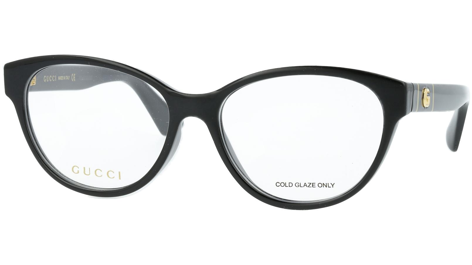 Gucci GG0633O 001 54 Black Cat-Eye Glasses