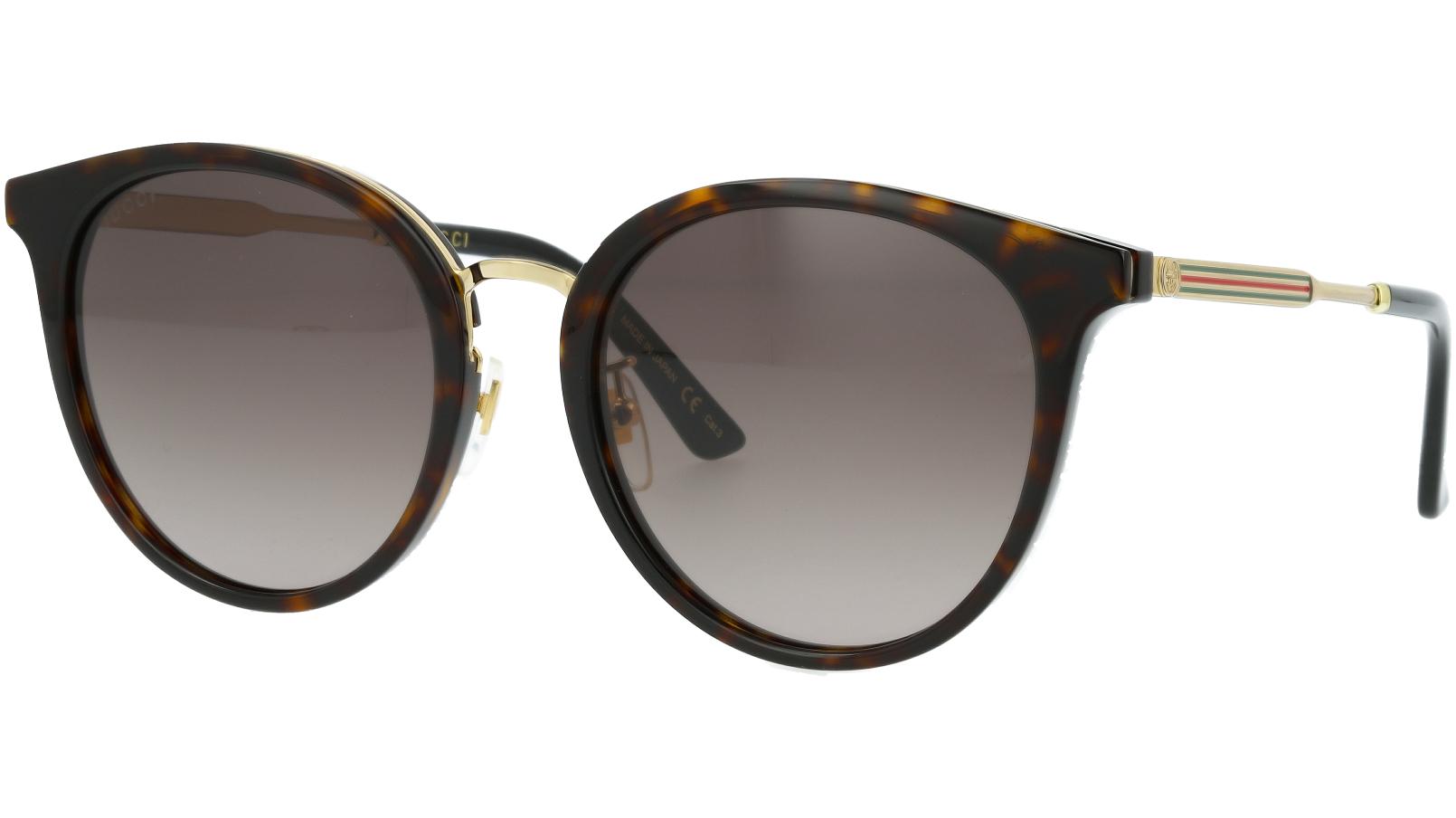 GUCCI GG0204SK 002 56 AVANA Sunglasses