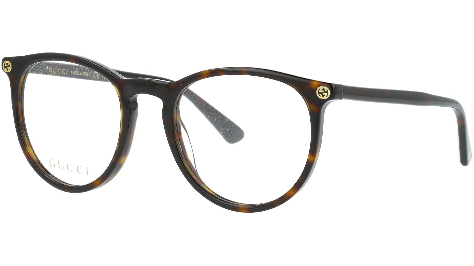 GUCCI GG0027O 002 50 AVANA Glasses