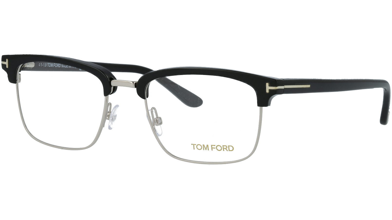 TOM FORD FT5504 005 52 BLACK Glasses