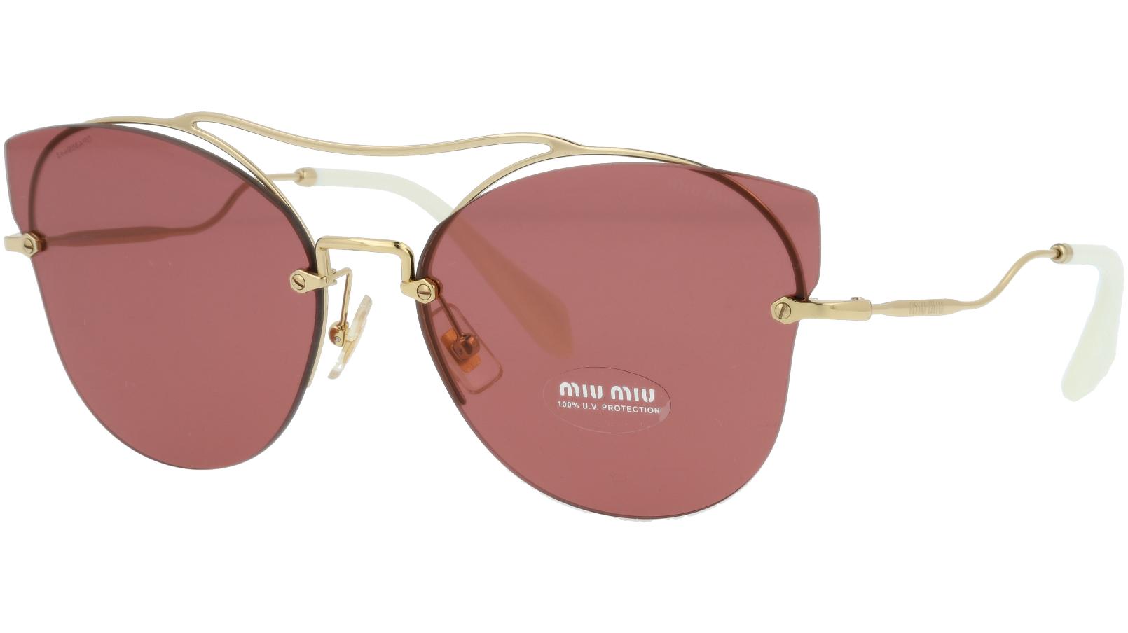 MIU MIU MU52SS ZVN0A0 62 Pink Cat-Eye Sunglasses
