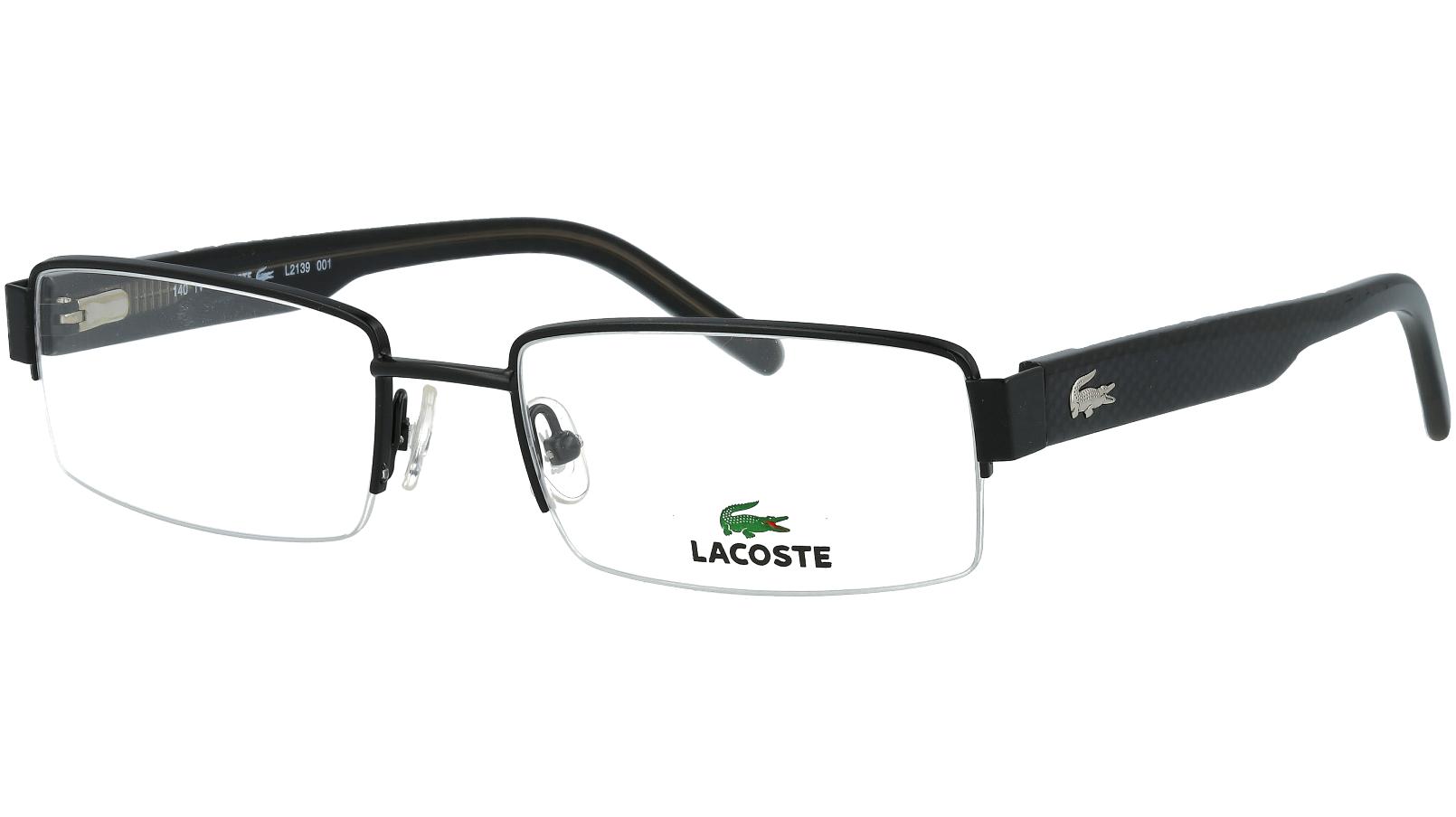 Lacoste L2139 001 53 Black Glasses