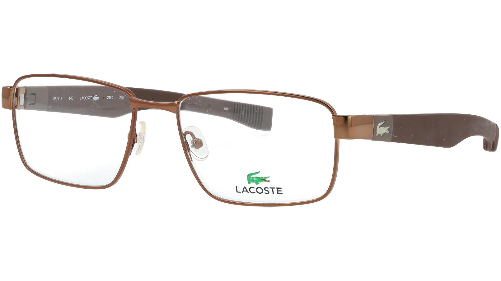 LACOSTE L2180 210 55 BROWN Glasses