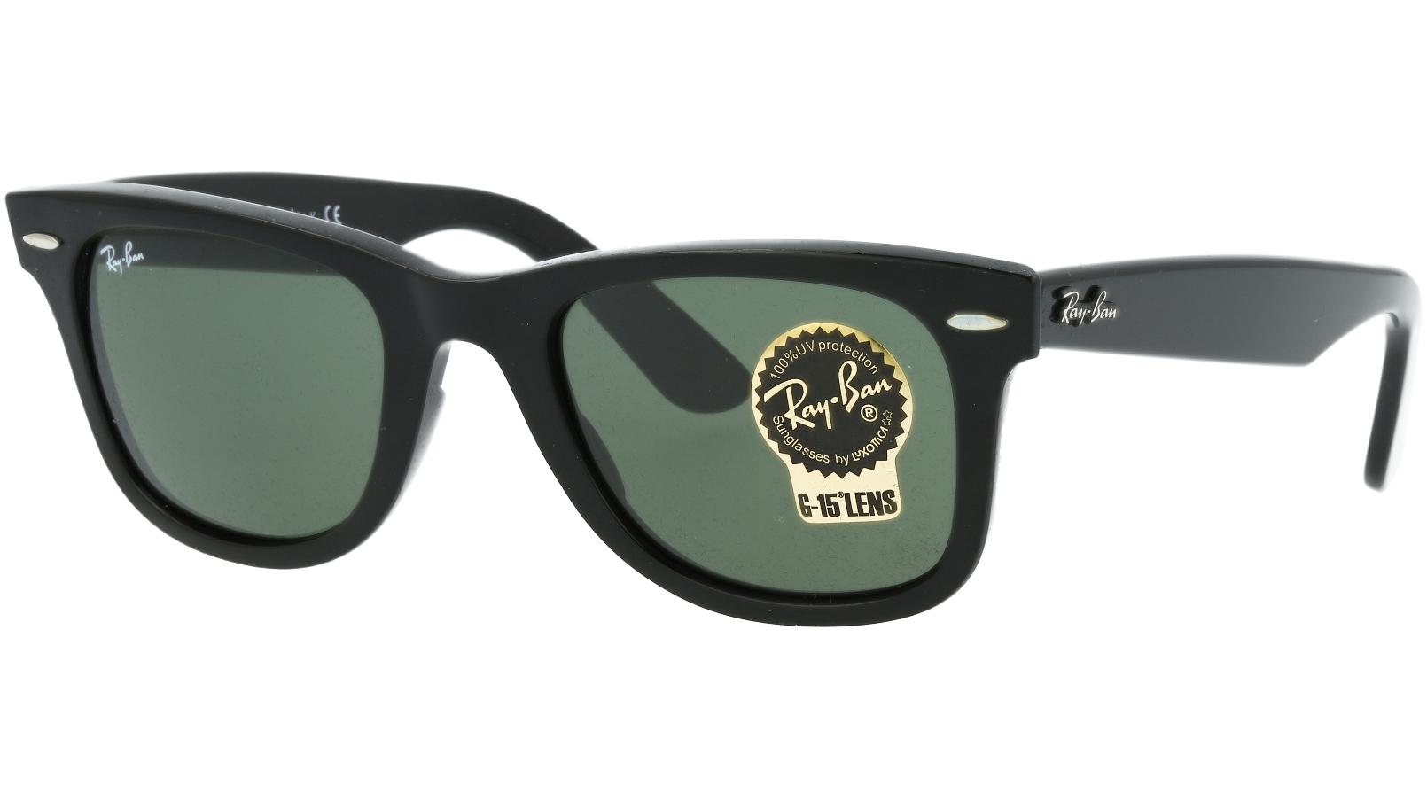 Ray-Ban RB2140 901 50 Black Sunglasses