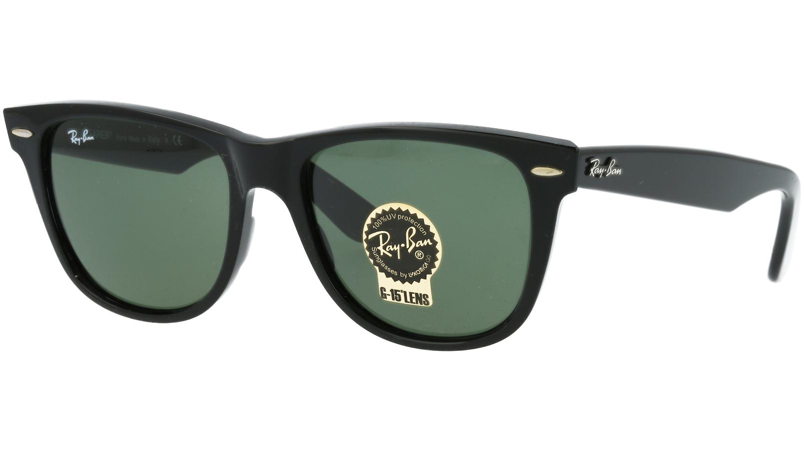 Ray-Ban RB2140 901 54 Black Sunglasses