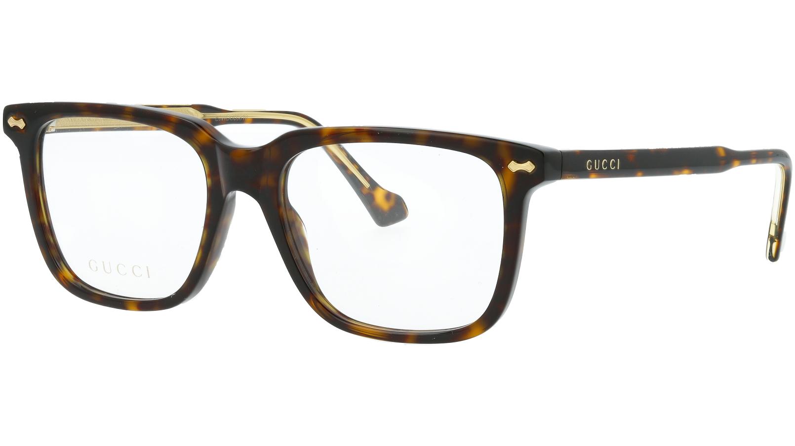 Gucci GG0737O 006 53 Havana Glasses